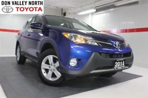 2014 Toyota RAV4 XLE Navigation Pkg Sunroof Btooth BU Camera Cru