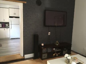 Large downtown 1 bedroom + office - great vibe.