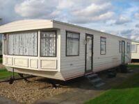3 BEDROOM STATIC CARAVAN FOR HIRE SKEGNESS, PET FRIENDLY SAT 26TH AUG - FRI 1ST SEPT £380