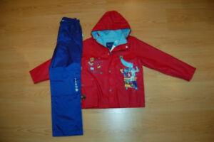 Vêtements garçon manteaux automne hiver 4 5 6 ans Gap +
