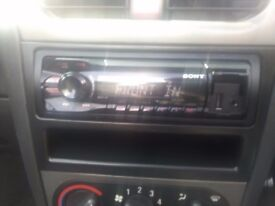 Sony car stereo mp3 player usb ,Aux cd fm stereo in great condition