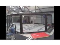 MMA octagon 21ft