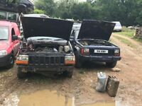 Jeep Cherokee breaking all parts x6 jeep Cherokee breakers yard Hertfordshire jeep parts available