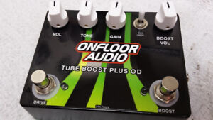 Onfloor Audio - Tube Boost Plus Overdrive ( Limited Edition )