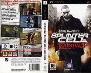 Jeux et film PSP UMD de sony