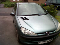 PEUGEOT 206 1.4 ONLY 76000 MILES
