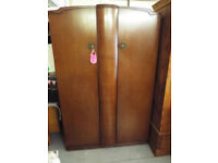 Old fashioned double wardrobe