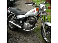 Yamaha Sr125 low miles, easy project