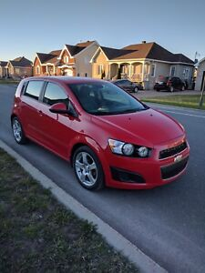 WOW!! Chevrolet Sonic 2013 BAS MILLAGE