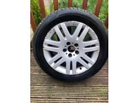 """BMW Series 7 18"""" Alloy and brand new Michelin tyre"""