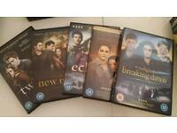 Twilight 1-5 collection dvd