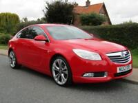 2012 Vauxhall Insignia 2.0 CDTi SRi VX RED LINE 160 BHP 5DR TURBO DIESEL HATC...
