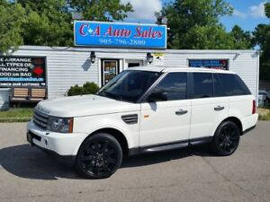 2007 Land Rover Range Rover Sport SUPER CHARGED ! NEW TIRES JUST