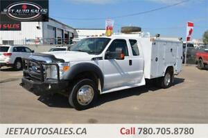 2012 Ford Super Duty F-450 XLT 4X4 Service truck, VMAC, Air Gas