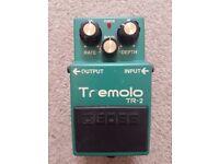 Boss TR-2 Tremolo pedal good condition