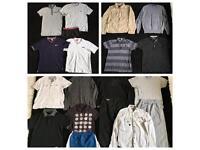 Men's mixed clothing Carboot Joblot bundle 20+ items Small Medium Large