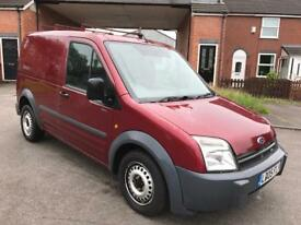2005 FORD TRANSIT CONNECT T200 TD MOTED NO VAT £895