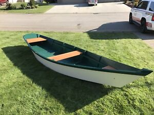 Handcrafted 15ft rowboat