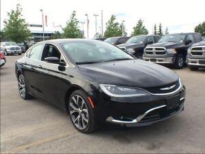 2016 Chrysler 200 C**LEATHER**PANORAMIC SUNROOF**