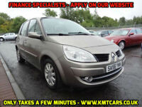 2008 Renault Scenic 1.6 VVT (111bhp) Dynamique - ONLY 58000mls - KMT Cars