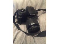 Canon 1300D DSLR 18MP. 18-55mm Lens
