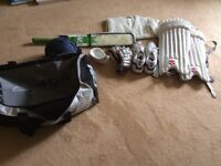 Cricket bag full of cricket gear. Bargain clear out!!