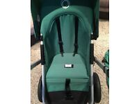 Bugaboo Geco Pushchair, Carrycot and extras