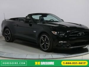 2015 Ford Mustang CONVERTIBLE GT PREMIUM EDITION 50 ANNIVERSAIRE