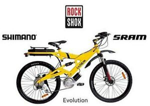 ~LUXOR EVOLUTION 250 Central drive E-Bike, electric bike, bike,