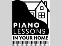 Professional Piano lessons, in your House or mine, FREE TRIAL