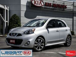 2015 Nissan Micra SR - No Accident, 16 Alloys, Rearview Cam