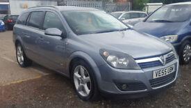 2006 Vauxhall Astra 1.7 CDTi Diesel SRi Estate + 12 Months MOT + S/History + HPI Clear