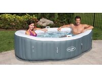 Lay-Z-Spa Siena AirJet Inflatable Hot Tub Spa New in Box