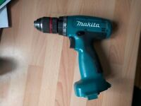 Makita 6270D (12V) Cordless Hand Drill with Metabo Chuck Upgrade - Bare Body Only