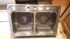 moen kitchen sink and Danze faucet