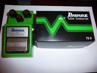 Ibanez Tube Screamer TS9 Guitar Effects Pedal