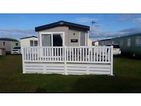 Luxury caravan for private hire at silversands lossiemouth