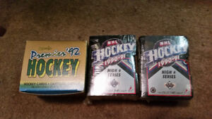 3 Complete Hockey Card Sets