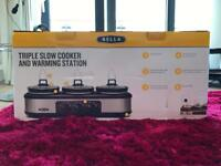 3 Pot Slow Cooker - BNIB, Never Been Used. Collection Only