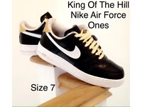 Nike Air Force Ones King Of The Hill Limited Edition Very Rare