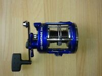 Fladen Vantage 300 Blue multiplier reel, like new.