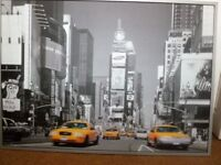 LARGE PICTURE TIME SQUARE NEW YORK ( IKEA )