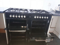 Range Cooker in excellent conditions 18 months old. New world 100dft range cooker 8 rings