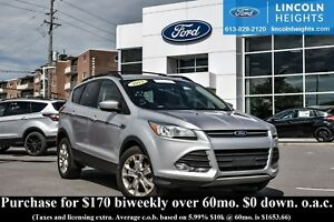 2013 Ford Escape SE 4WD - BLUETOOTH - CLASS II TRAILER TOW - NAV