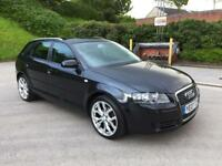 **Audi A3 SPECIAL EDITION TDI 1.9 DIESEL 5 DOOR HATCHBACK BLACK (2007 YEAR)**