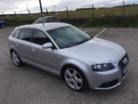 2006 AUDI A3 TDI S LINE 1968cc Diesel 6 Speed 5 Door Hatchback