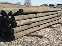 Telegraph Poles Required Let Me Know What You Have. Fence Gate Electric Build