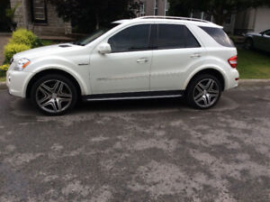 2010 Mercedes-Benz M-Class ML 63 AMG SUV, Crossover