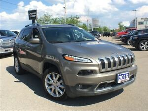 2016 Jeep Cherokee LIMITED**LEATHER**NAVIGATION**