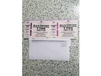 Hardwick Live Tickets x 2